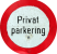 privat-parkering